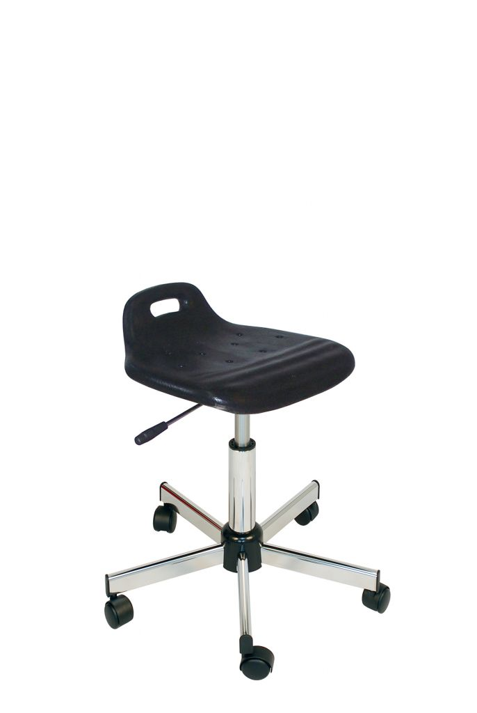 Assise ergonomique (440-570mm chromé)