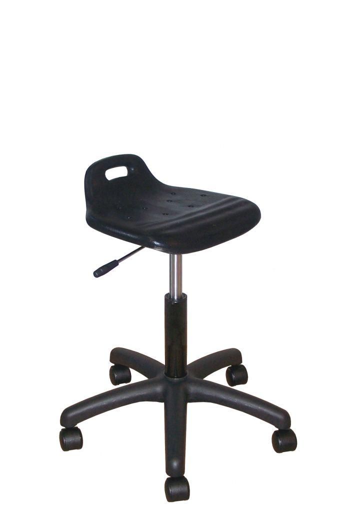 Assise ergonomique (440-570mm noir)
