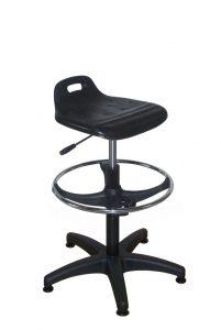 Assise ergonomique - noir -