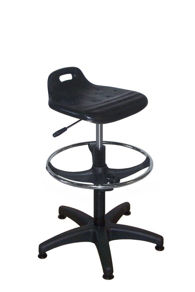 Assise ergonomique (540-780mm noir)
