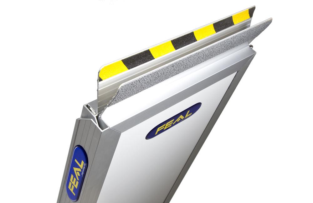 The folding ramp